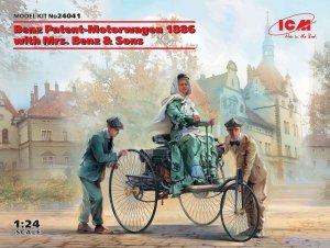 ICM 24041 Benz Patent-Motorwagen 1886 with Mrs. Benz & Sons 1/24
