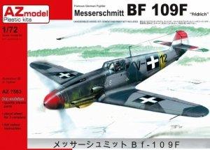 AZmodel AZ7563 Messerschmitt Bf-109F Fridrich (1:72)