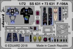 Eduard SS631 F-106A TRUMPETER 1/72