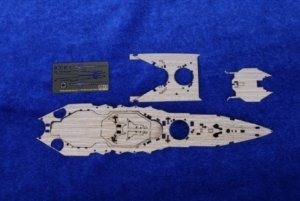 MK1 Design MD-70006 Ise Wooden Deck for Hasegawa (Early version) 1/700