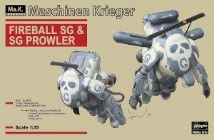 Hasegawa 64113 Maschinen Krieger Fireball SG/SG Prowler 1/35