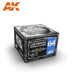 AK Interactive RCS064 LUFTWAFFE NORM 83 SCHEME SET 3x10ml