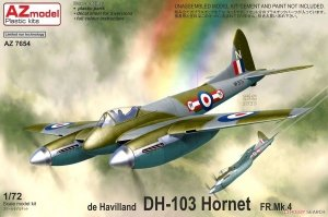 AZ Model AZ7654 de Havilland DH.103 Hornet F Mk. 4 1/72