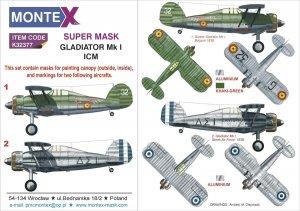 Montex K32377 Gladiator Mk I ICM 1/32