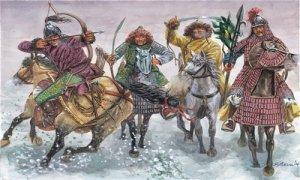 Italeri 6864 FIGURKI-MONGOLS 1/32