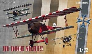 Eduard 2135 Du doch nicht!! Albatros D.V, Fokker Dr. I and Fokker D.VII 1/72