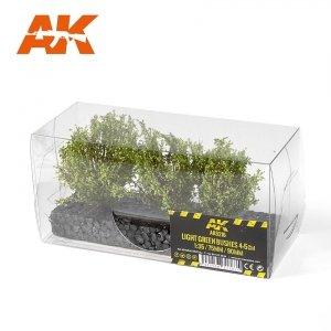 AK Interactive AK 8216 LIGHT GREEN BUSHES 4-6CM 1/35