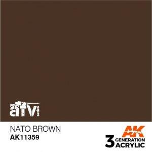 AK-Interactive AK 11359 NATO Brown 17ml