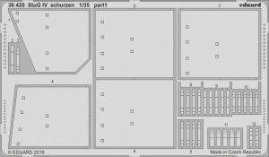 Eduard 36420 StuG IV schurzen ACADEMY 1/35
