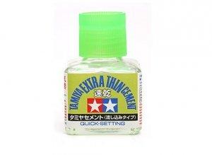 Tamiya 87182 Extra Thin Cement Quick-Setting 40ml