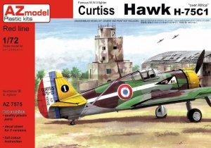 AZmodel AZ7575 Curtiss Hawk H-75C1 Over Africa 1/72