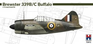 Hobby 2000 72012 Brewster 339B/C Buffalo 1/72