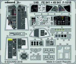 Eduard FE941 F-101B 1/48 KITTY HAWK