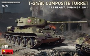 MiniArt 35306 T-34/85 COMPOSITE TURRET. 112 PLANT. SUMMER 1944 1/35