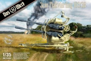 Das Werk DW35004 Flakvierling 103/38 1/35