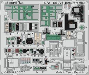 Eduard SS725 Beaufort Mk. I AIRFIX 1/72