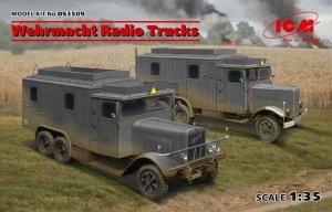 ICM DS3509 Wehrmacht Radio Trucks (Henschel 33D1 Kfz.72, Krupp L3H163 Kfz.72) 1/35