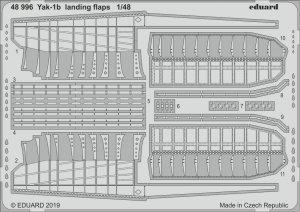 Eduard 48996 Yak-1b landing flaps ZVEZDA 1/48