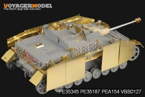 Voyager Model PEA154 WWII German StuG.IV schürzen (For DRAGON Kit) 1/35