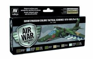 Vallejo 71608 Soviet / Russian colors Tactical Schemes 1978-1989 (Part II) 8x17 ml