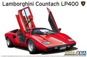 Aoshima 05804 Lamborghini Countach LP400 1/24