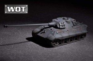 Trumpeter 07161 German King Tiger (Porsche turret) with 105mm kwk L/68 1/72