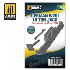 Ammo of Mig 8117 German WWII 10 ton Jack 1/35