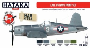Hataka HTK-AS05.2 Late US Navy paint set 6x17ml