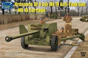 Riich Models RV35018 British Ordnance QF 6 pdr Mk IV Anti-Tank Gun and Mk 1a (1:35)
