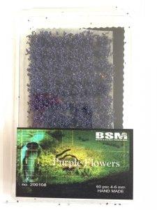 Bear`s Scale Modeling 200108 Purple Flowers 4-6mm (60 pcs)