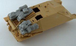 "Panzer Art R35-573 Stowage set for ""Hetzer"" 1/35"