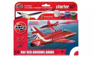 Airfix 55002 RAF Red Arrows Hawk - Gift Set 1/72