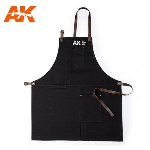 AK Interactive AK 9200 OFFICIAL APRON BLACK / Fartuch modelarski