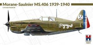 Hobby 2000 72031 Morane-Saulnier MS.406 1939-40 1/72