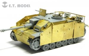E.T. Model E72-015 WWII German StuG.III Ausf.G Early Production For DRAGON 7283 1/72