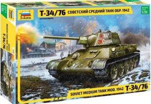 Zvezda 3686 Soviet Medium Tank T-34/76 mod. 1942 1/35
