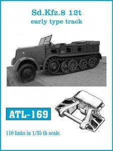 Friulmodel ATL-169 Sd.Kfz. 8 12t Early type track