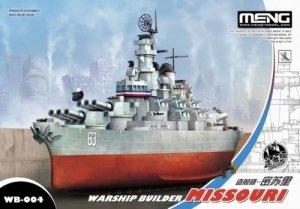 Meng Model WB-004 Warship builder Missouri