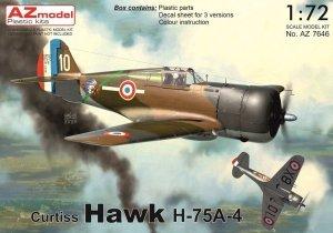 AZ Model AZ7646 Curtiss Hawk H-75A-4 1/72