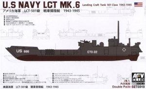 AFV Club SE73518 U.S NAVY LCT Mk. 6-501 class (1943-1945) 1/350