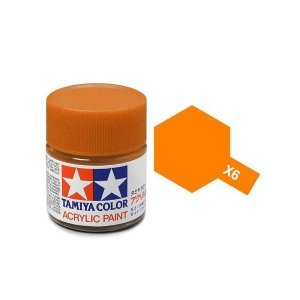 Tamiya 81006 Acryl X-6 Orange 23ml
