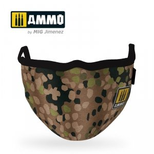 Ammo of Mig 8067 Erbsenmuster AMMO Face Mask