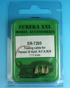 Eureka XXL ER-7205 PzKpfw-III Ausf. A-F, K, M, N 1:72