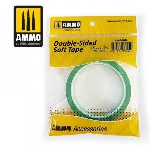 AMMO of Mig Jimenez 8044 Double-Sided Soft Tape (15mm x10m)