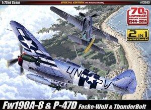 Academy 12513 Fw190A-8 & P-47D (1:72)