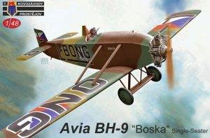"""Kovozavody Prostejov KPM4819 Avia BH-9 """"Boska"""" Single-Seater 1/48"""