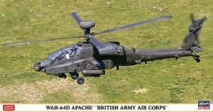 Hasegawa 07445 WAH-64D Apache British Army Air Corps 1/48