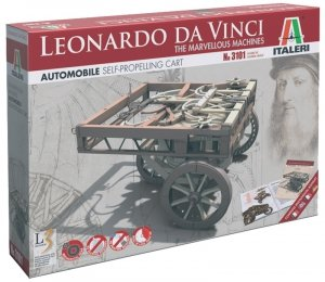 Italeri 3101 Leoanardo Da Vinci marvellous machine-Self Propelled Charriot