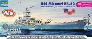 Trumpeter 03705 USS Missouri BB-63 Big Mo Battleship (1:200)