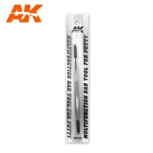 AK Interactive 9169 MULTIFUNCTION BAR TOOL FOR PUTTY